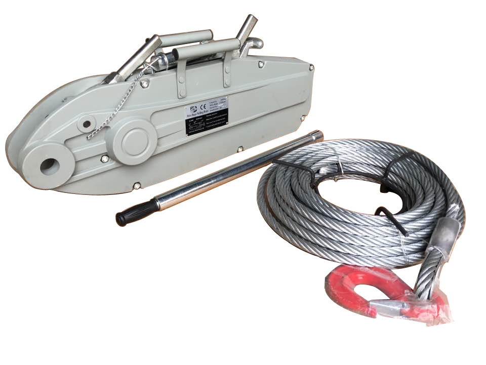 China Grip Hoist, Grip Puller, Wire Rope Pulling Hoist - China Wire ...