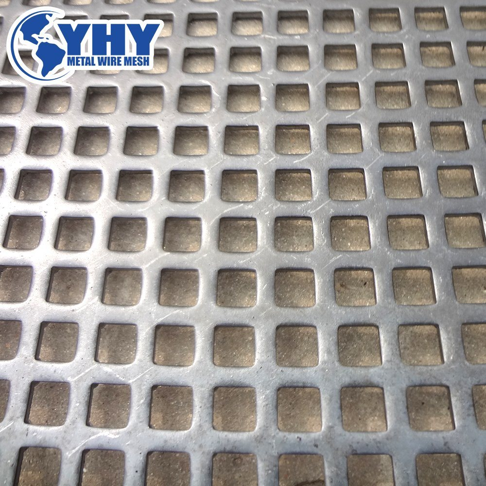 China Aluminum Perforated Metal Mesh Sheets - China Perforated Mesh ...
