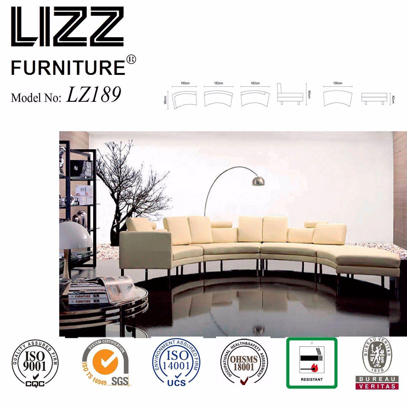 Hot Item Curved Design Modular Sofa 8 Seater