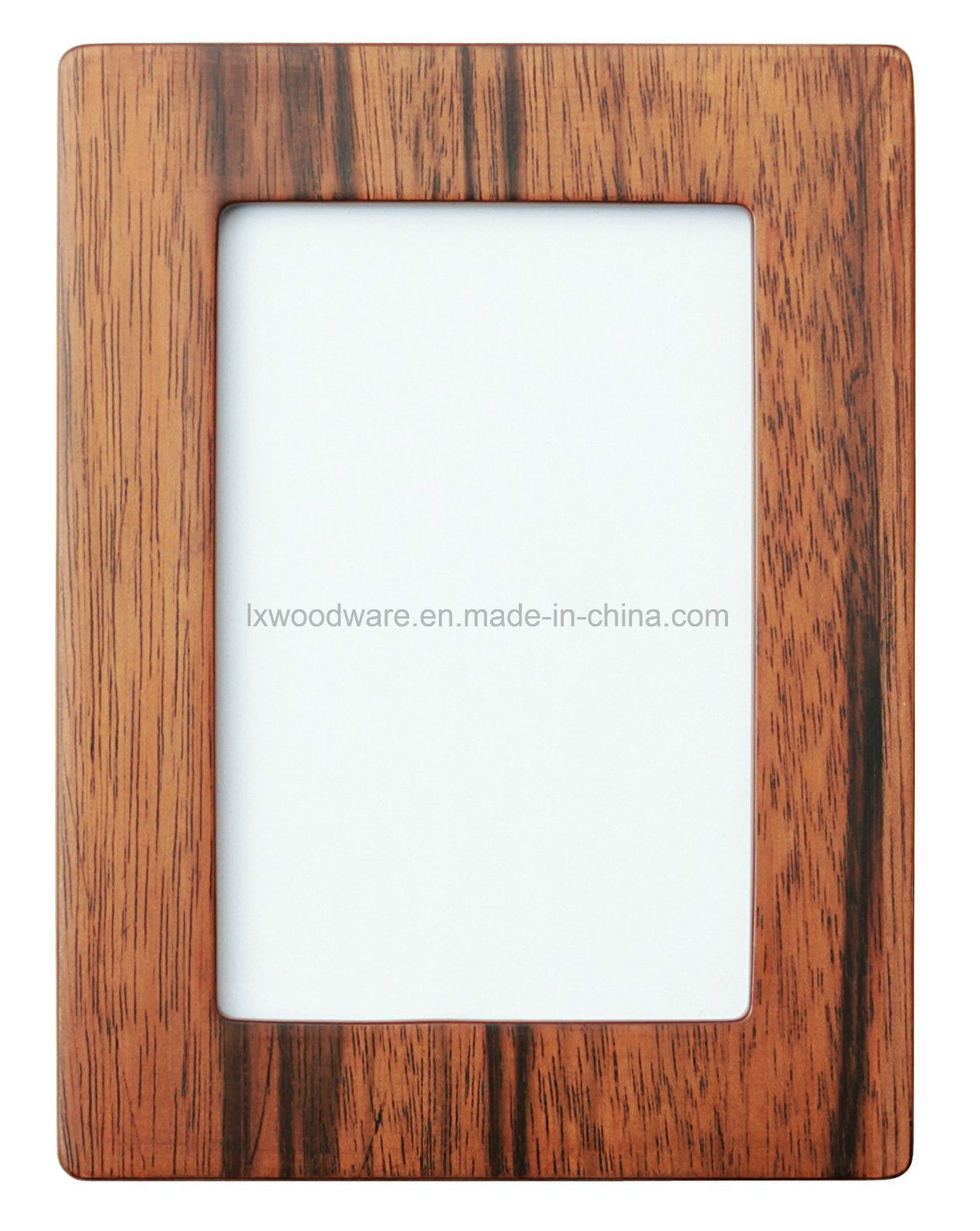 China Walnut Semi-Glossy Wooden Art Craft Photo/Picture Frame with ...