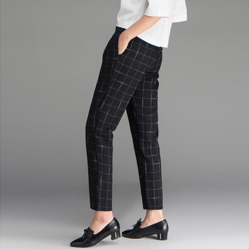 6de9e8328511 China Women Slim Fit Wool Trousers Formal Check Dress Pants - China Pants  Women Ladies, Design Ladies Pants
