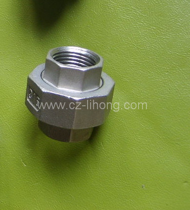 "3/4"" Stainless Steel 316 DIN2999 Union Flat F/F pictures & photos"