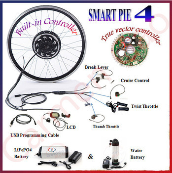 China Smart Pie 4 200W-500W Electric Bicycle Motor with LCD