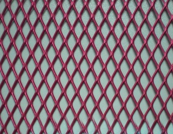 China Decorative Aluminum Expanded Metal Mesh Panels