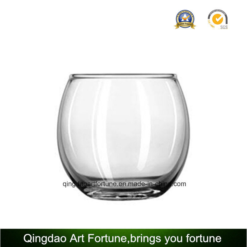 China Round Glass Bowl Candle Holder Manufacturer Jar