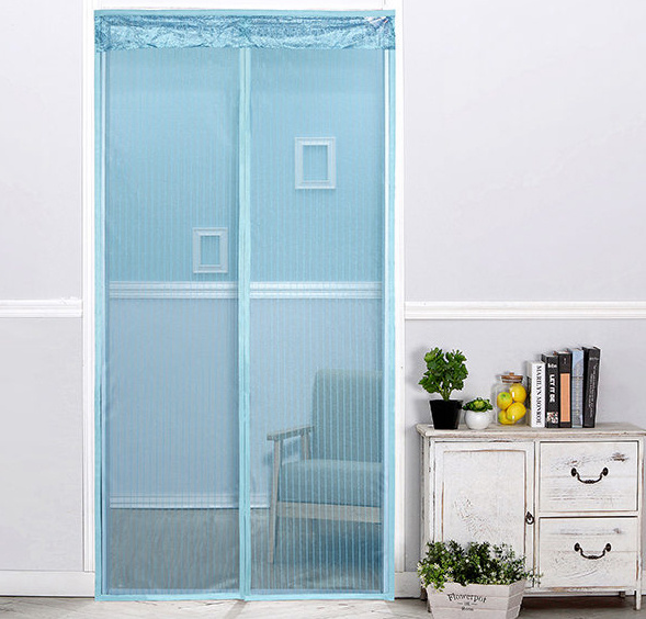 China 2017 Magnetic Door Mesh Fancy Magnetic Mosquito Net Door Curtain    China Door Mosquito Net, Magic Mesh