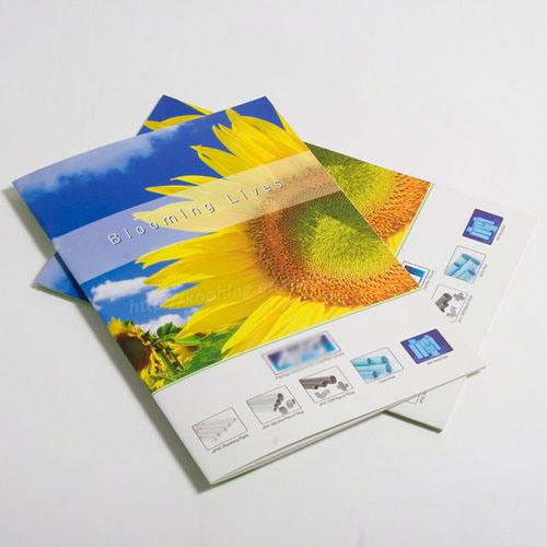 china custom art paper printing a4 sheet booklet pamphlet brochure