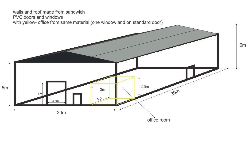 China Steel Framing Pole Barn Kits and Pole Buildings (SL-0026 ...