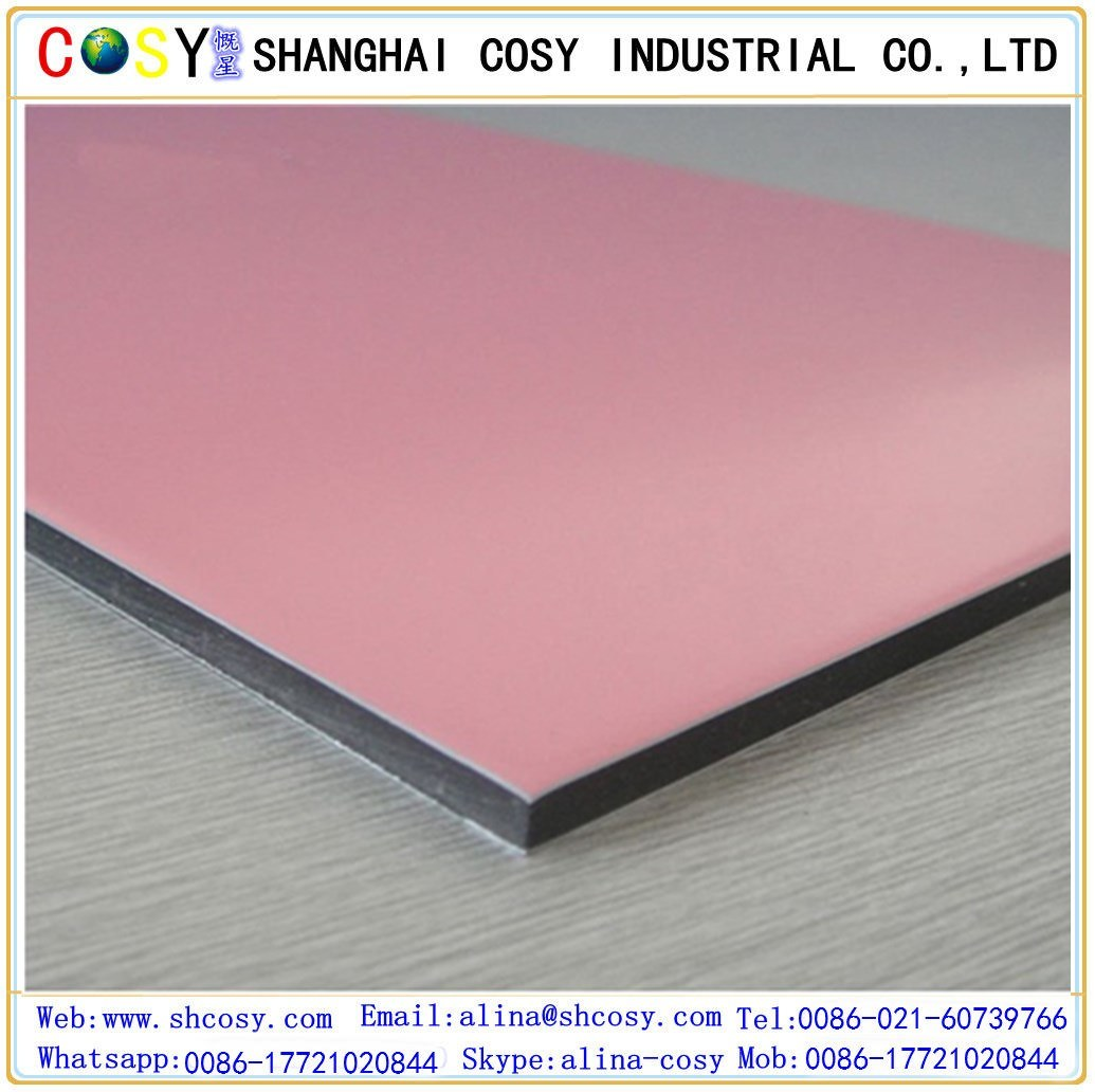 Brushed Aluminum Composite Panel ACP Alucobond ACM by