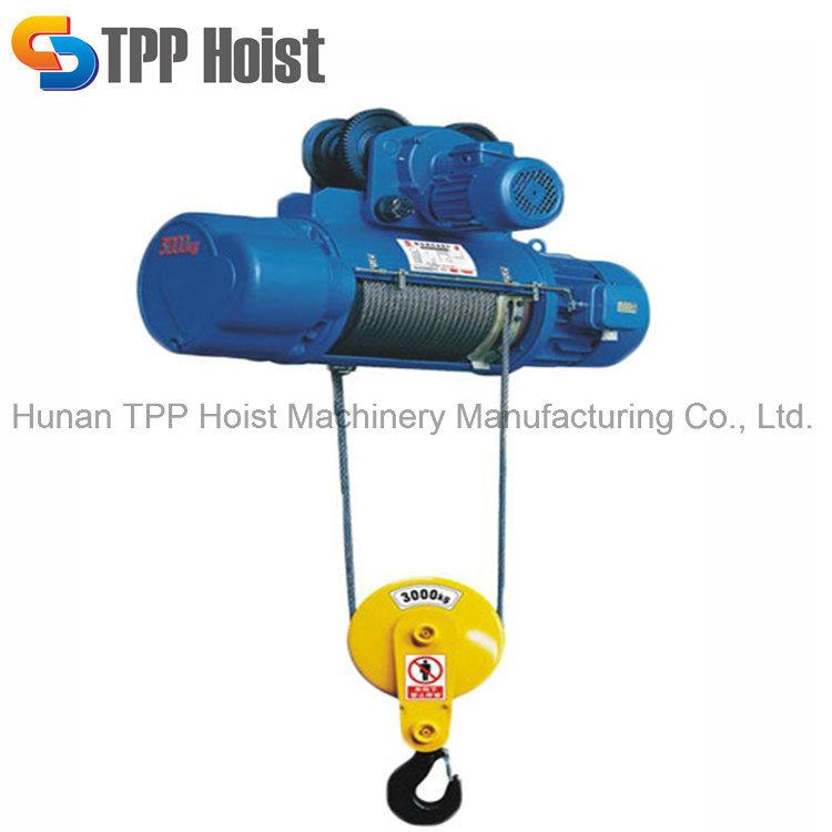 China Single Speed CD1 Type Electric Wire Rope Hoist, Crane Hoist ...
