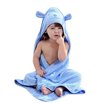 China Promotional Hotel Home Baby Children Hooded Cotton Blanket