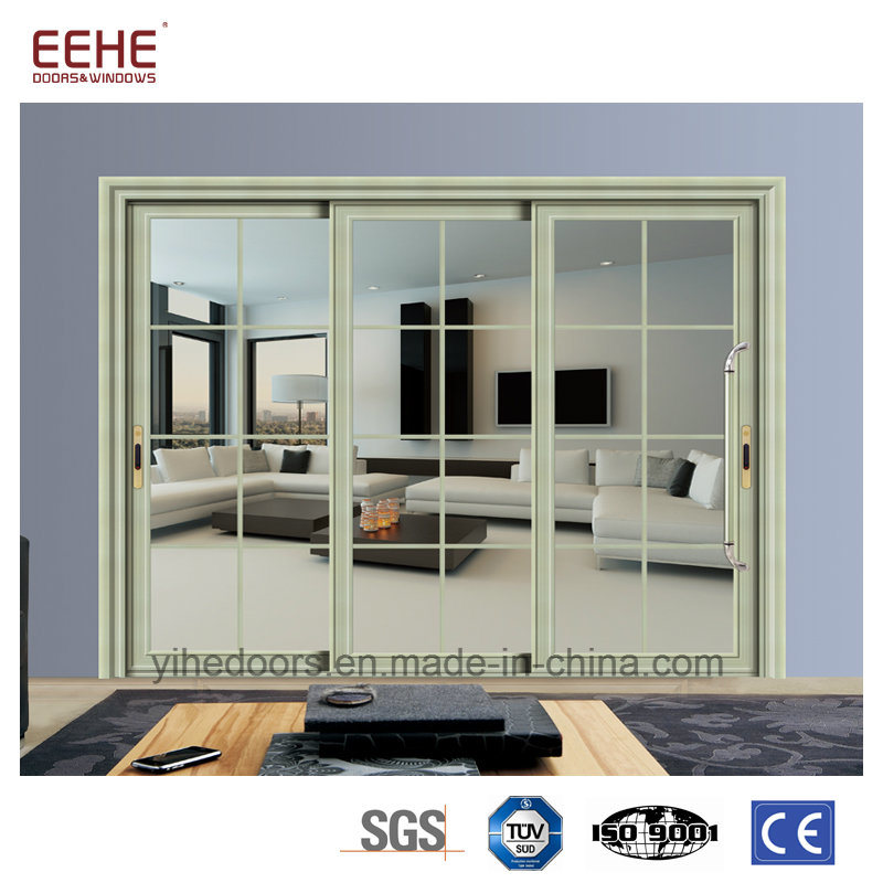 China Modern Design Aluminum Kitchen Door Aluminium Glass Sliding ...