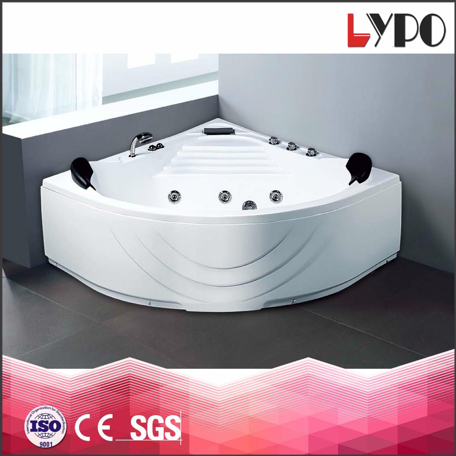 China K-8826 Classic Freestanding Clear Adult Bathtub, Thickness ...