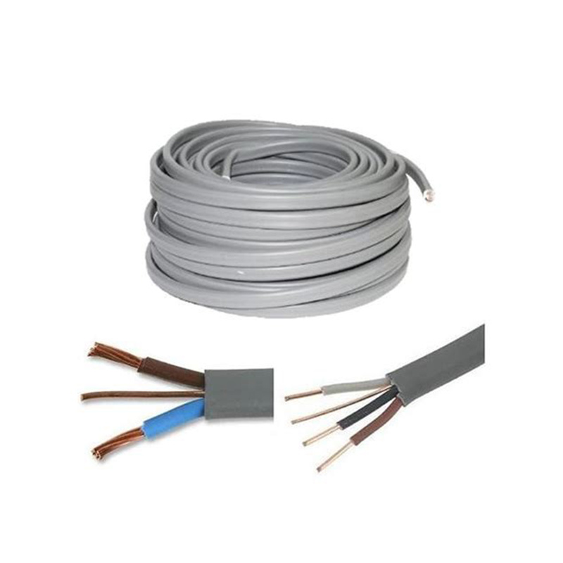 China 2X1.5+E Flat Twin and Earth Wire Electric Cable - China Flat ...
