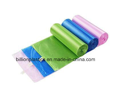 China Hdpe Colorful Kitchen Trash Bags