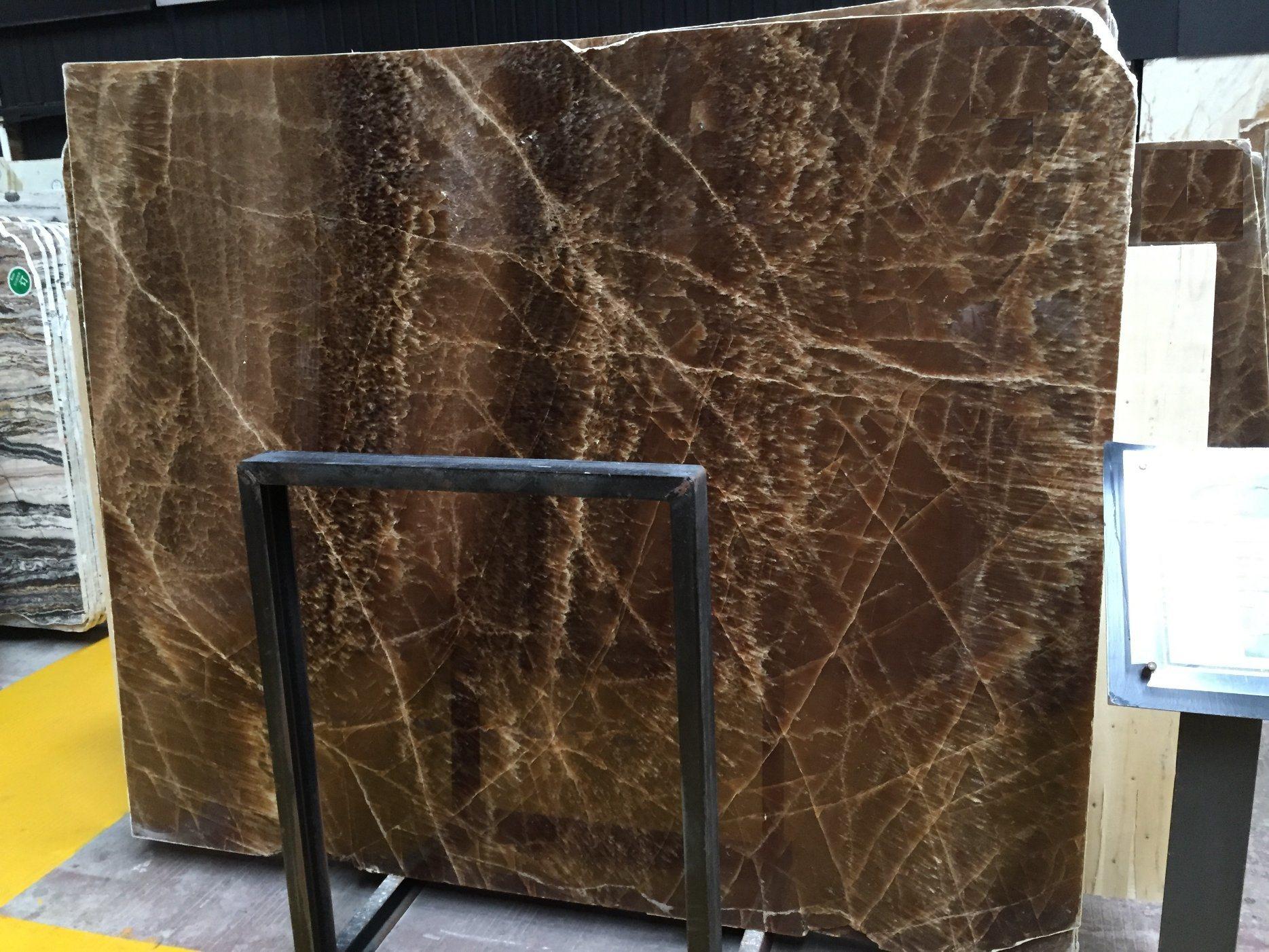 Brown Onyx Marble SlabsTiles FlooringWalling