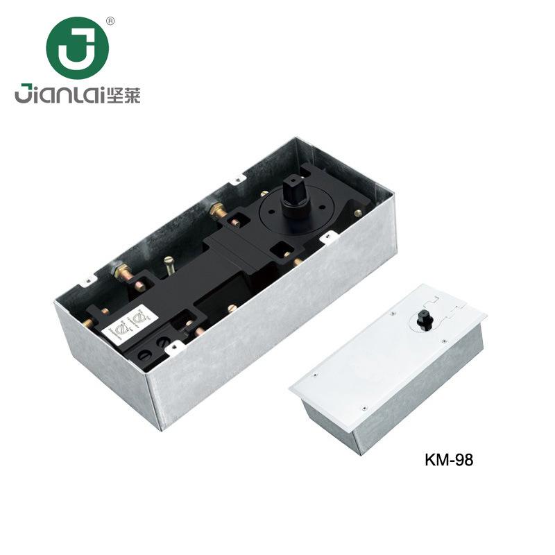 China Adjustable Sliding Glass Door Machine Hydraulic Floor Spring