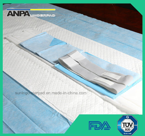china disposable high absorbent surgical table cover sheet for