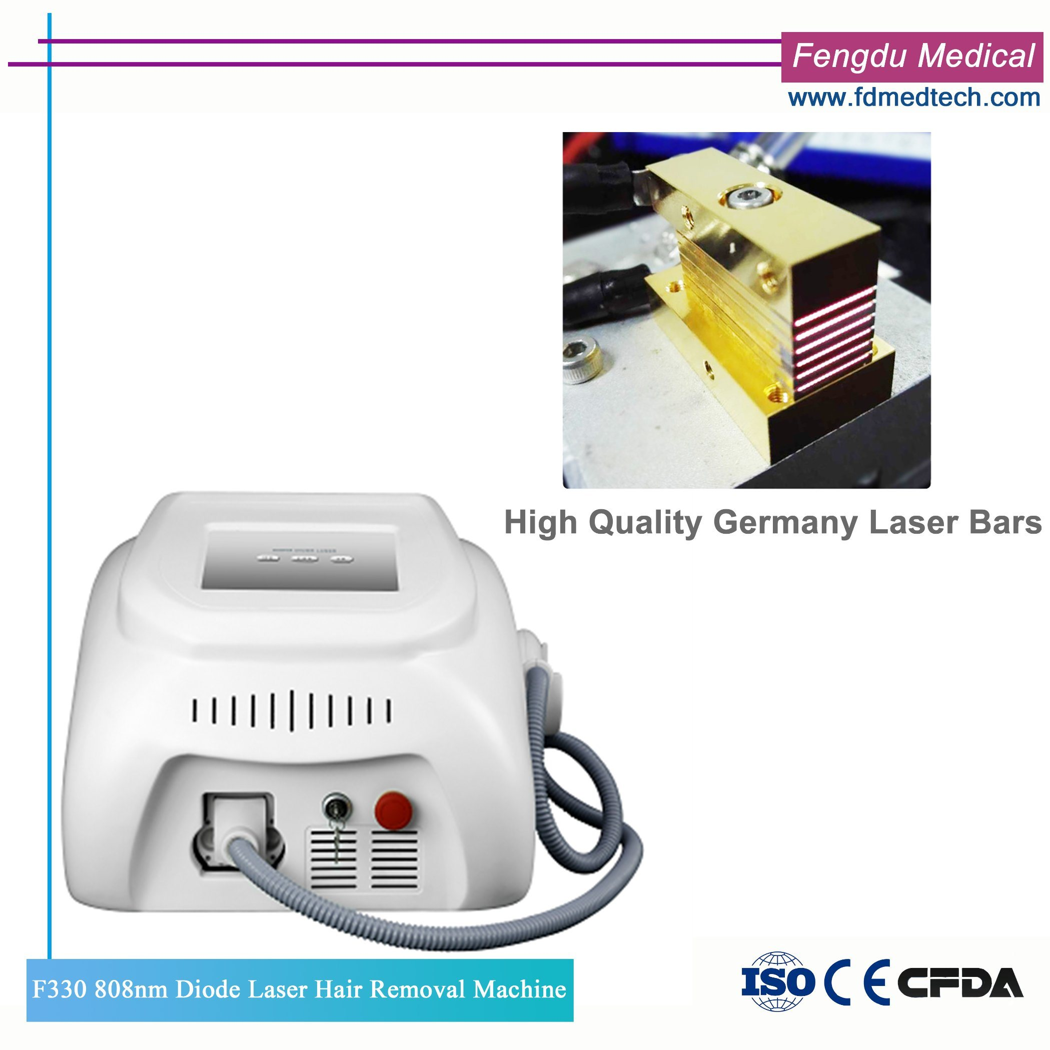 China Ce Certificate Diode Laser Hair Removal Machine For Beauty