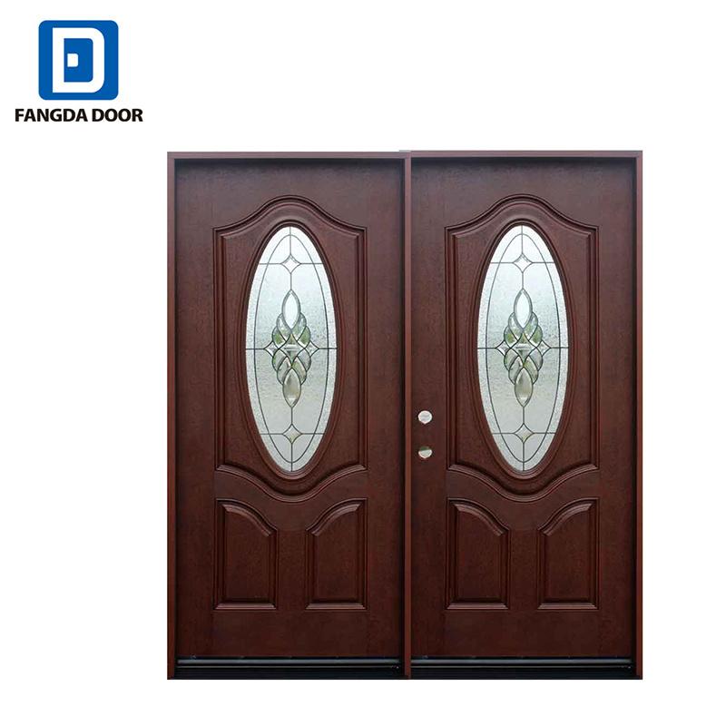 Exterior Wood Door Design Double Fibergl