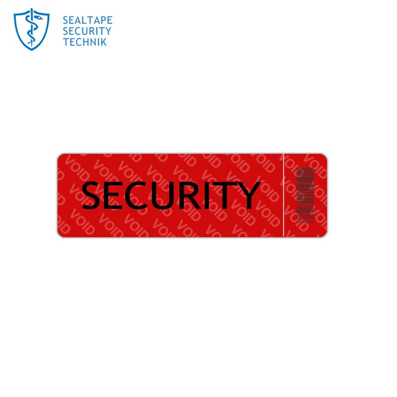 China Waterproof Labels Printable Security Pet Company Brand