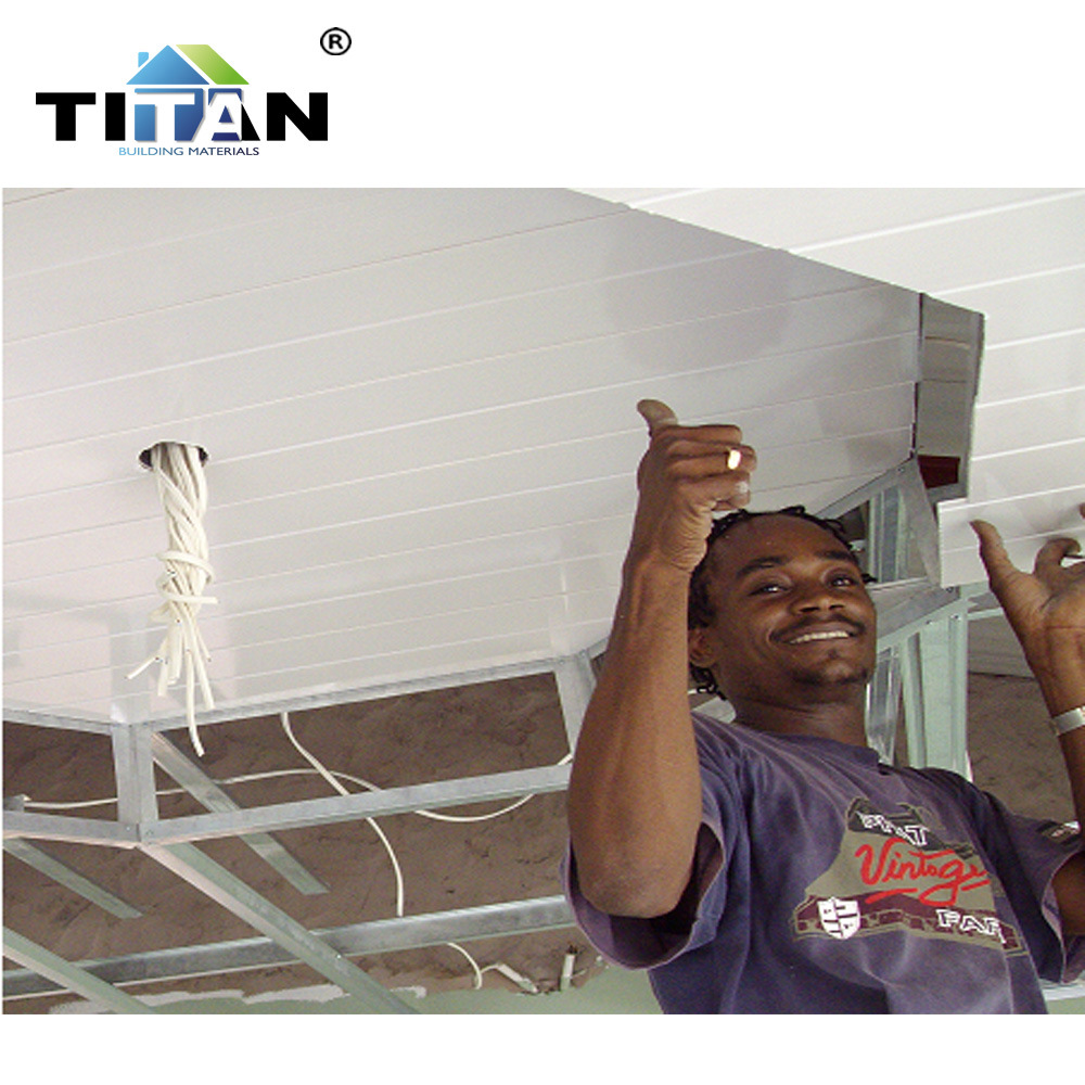 China Normal White Designs Kenya PVC Ceiling Designs for ...