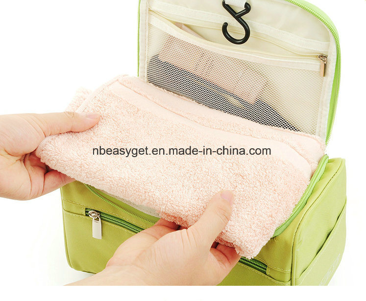 feb2dadae2c7 Travel Toiletry Bag Waterproof Zip Organizer Hanging Cosmetic Makeup Shower  Bag with Large Compartment for Men Women for Trip Vacation Gym Esg10557