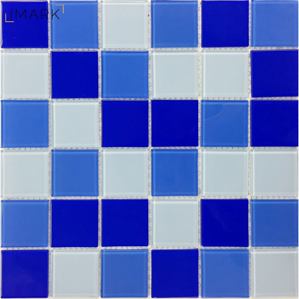 China Cheap Swimming Pool Glass Mosaic Wall Tile Factory - China ...