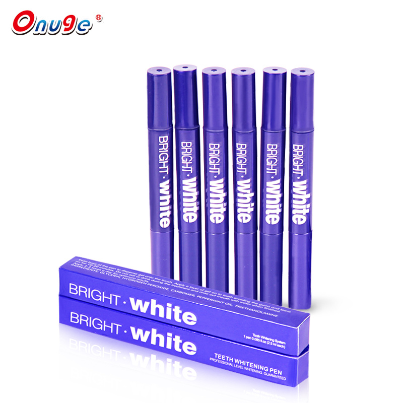 China Private Label Dental Care Teeth Whitening Pen Gel Non