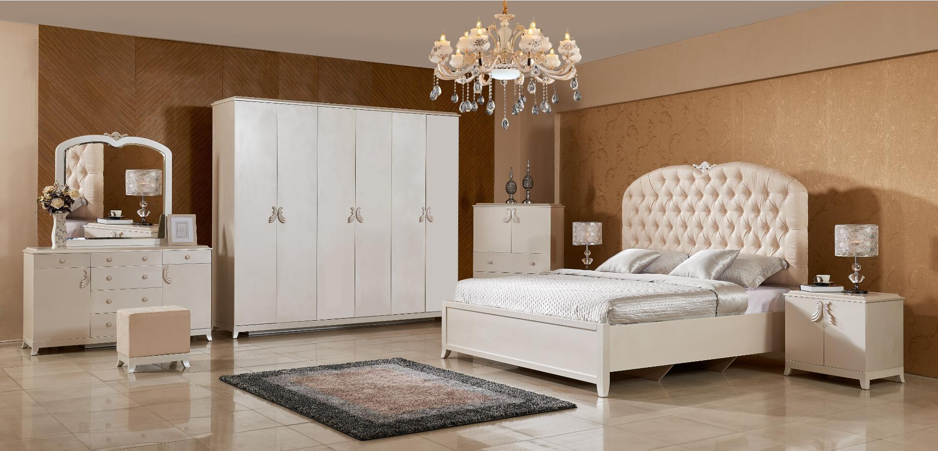 [Hot Item] New Classic Bedroom Set 3 Made in China
