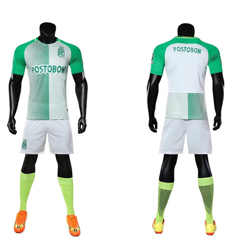 2acd8c8a9 2018 Football Club Real Madrid Soccer Football Uniform Set Kits Shirt Jersey