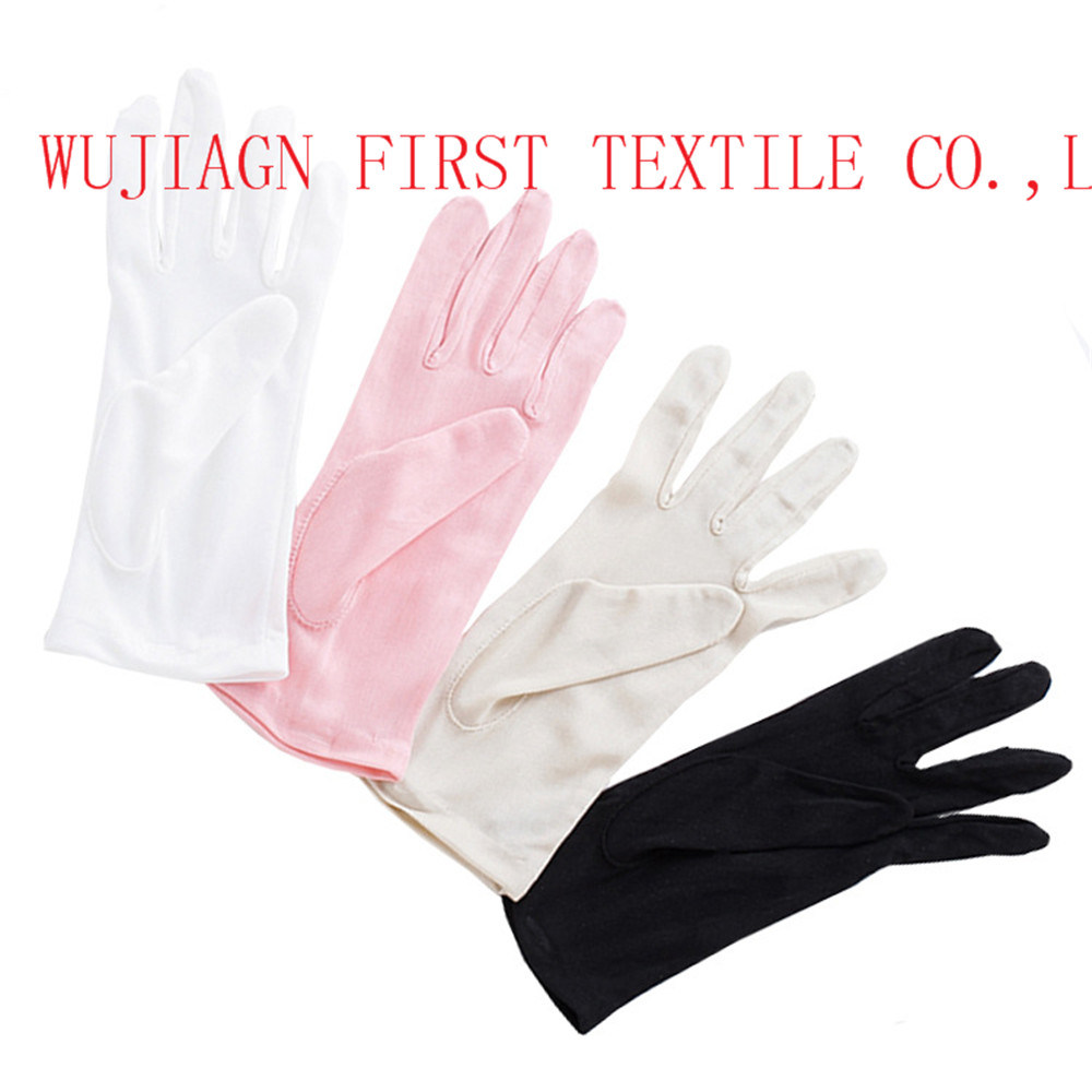 High Quality 100% Natural Silk Gloves pictures & photos