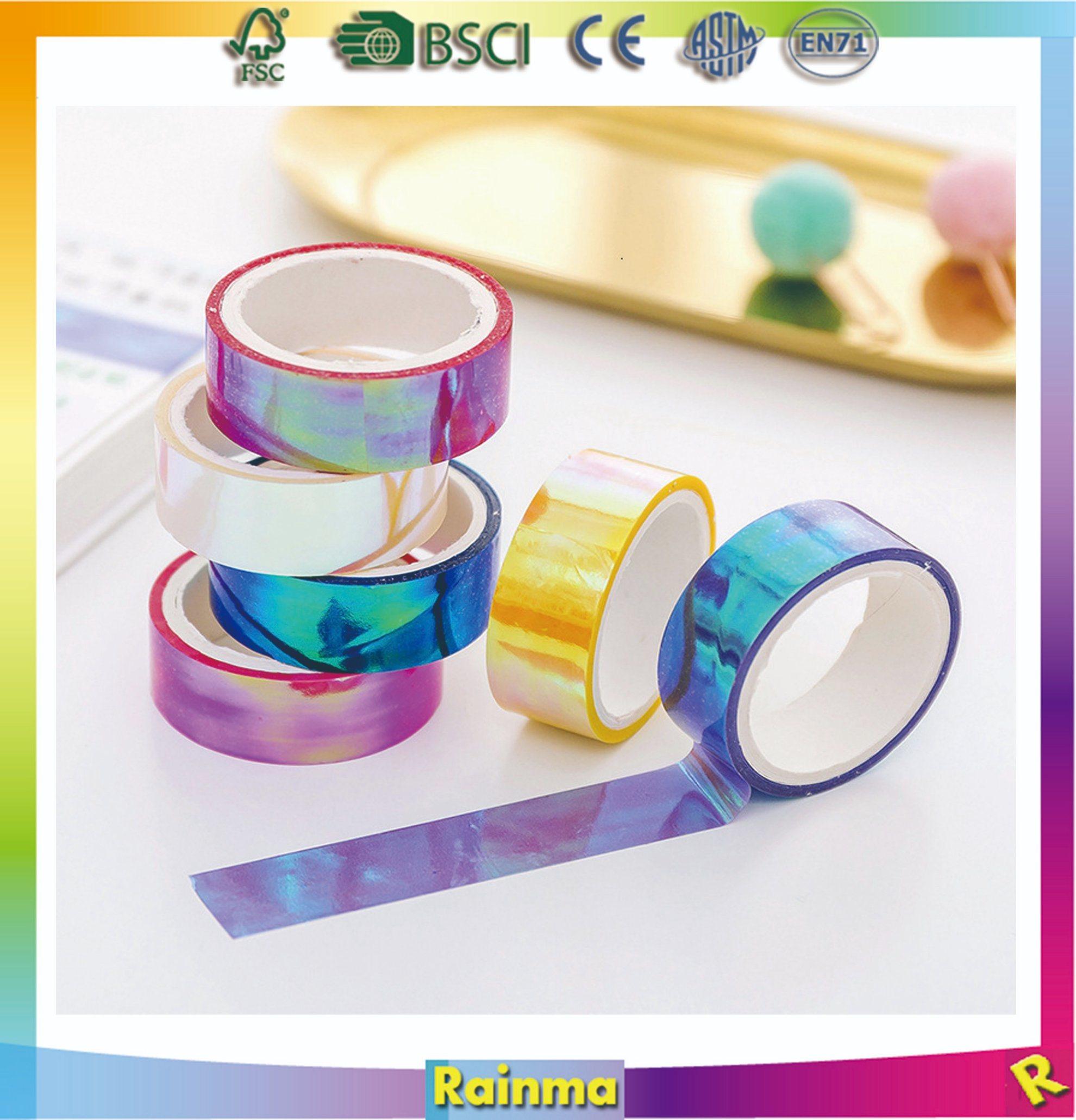 EXCLUSIVE Custom Make Print Washi Tapes 10M DIY Planner Masking Tapes Stationery