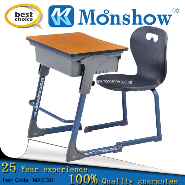 Amazing Hot Item Adjustable Height School Furniture Single Student Desk With Chair Cjindustries Chair Design For Home Cjindustriesco