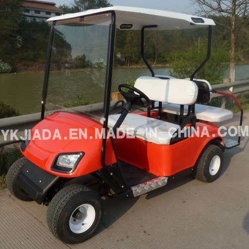 Manufactory 4 Seat Electric Power Golf Cars with 2 Back Seat (JD-GE501B)