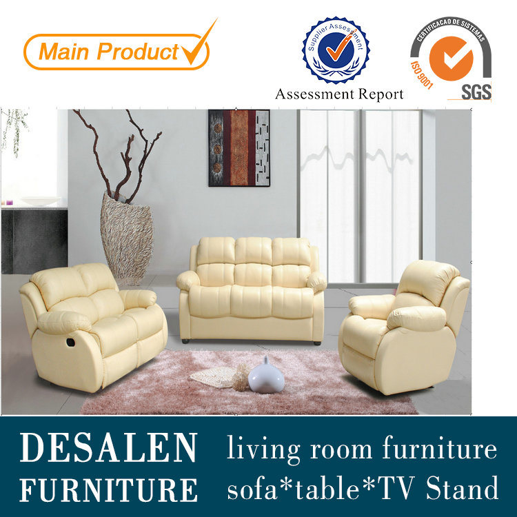 China Best Quality Leather Recliner Sofa For Living Room Furniture Y996