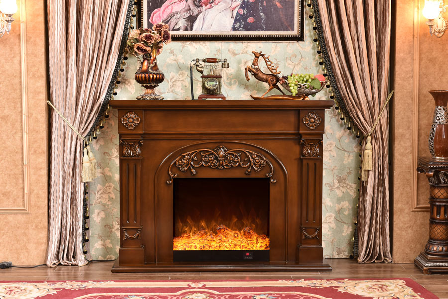 China Uk Usa Canada Winter Electric Insert Fireplace Log Fire Flame Effect Electric Fireplaces Freestanding With Thermostatic Control China Electric Heater Fireplace