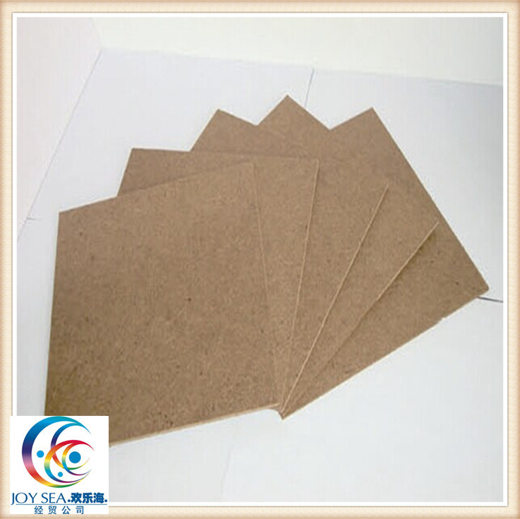 1220mm*2440mm Dark Brown Color Hardboard pictures & photos