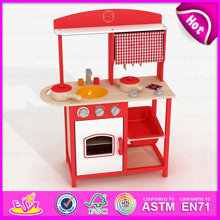 [Hot Item] 2015 Pretend Kitchen Toy Play Kitchen Set, DIY Wooden Kitchen  Furniture Toy Set, Hot Toys Kids Kitchen Play Set on Sale W10c143b