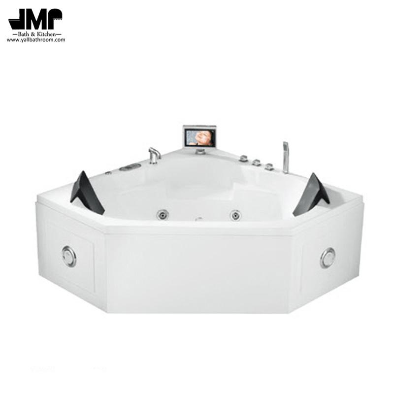 China Corner SPA Bath Tub Bathroom Jacuzzi Sanitary Ware Massage ...
