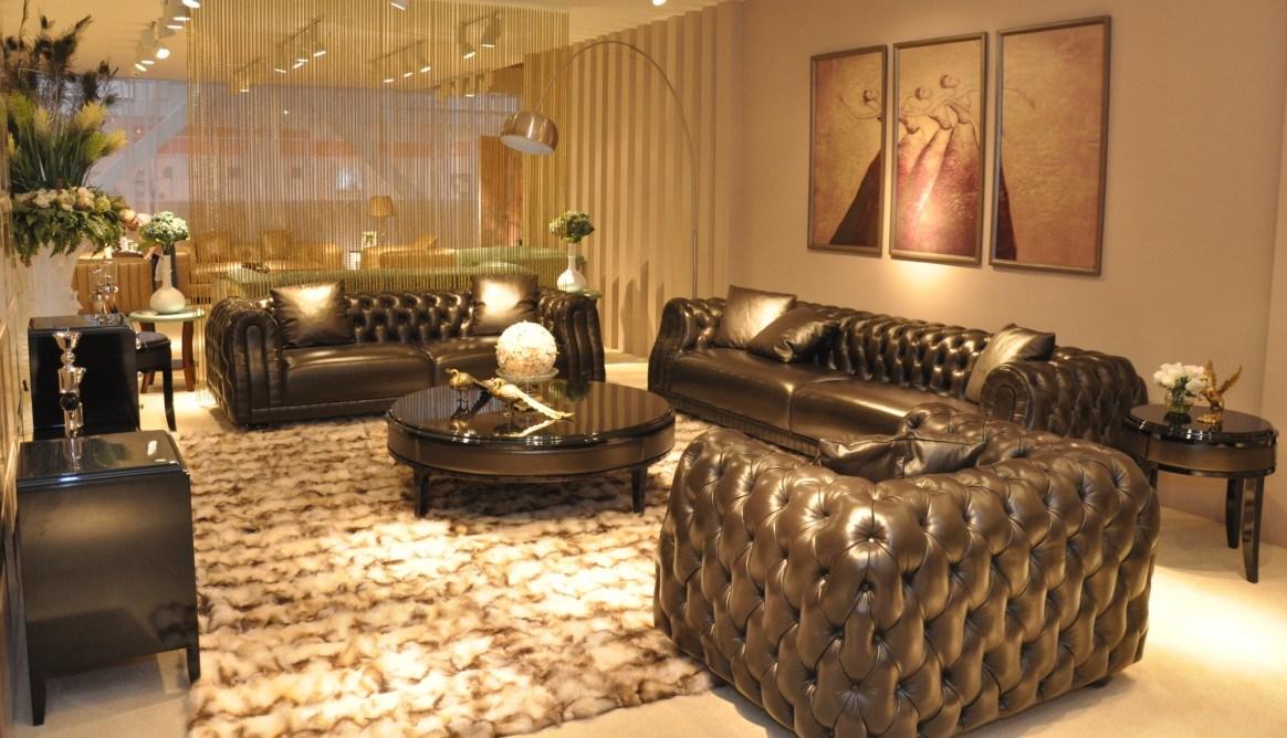China Italian Design Luxury Villa Sofa Set Furniture Leather