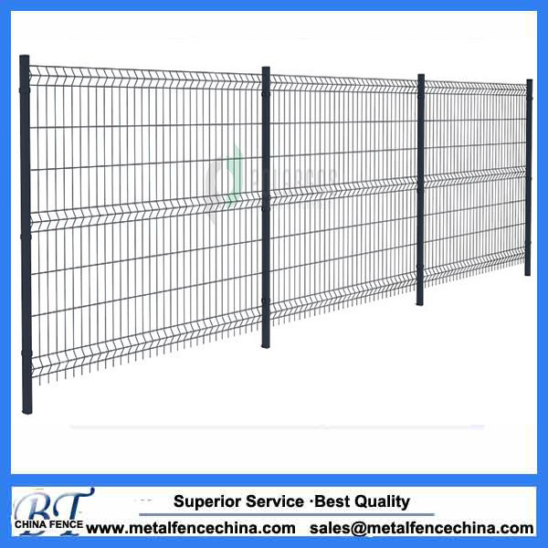 China Power Coated Welded Wire Mesh Garden Fence Panel - China Wire ...