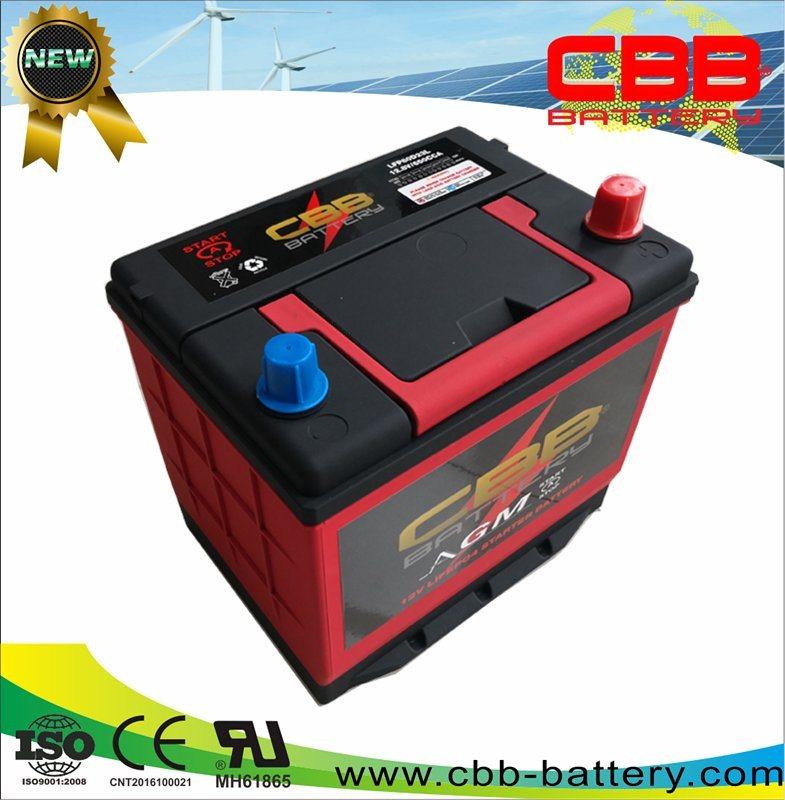 Lithium Car Battery >> China Lifepo4 Agm Starting Battery 40ah Lithium Car Battery 80d23l