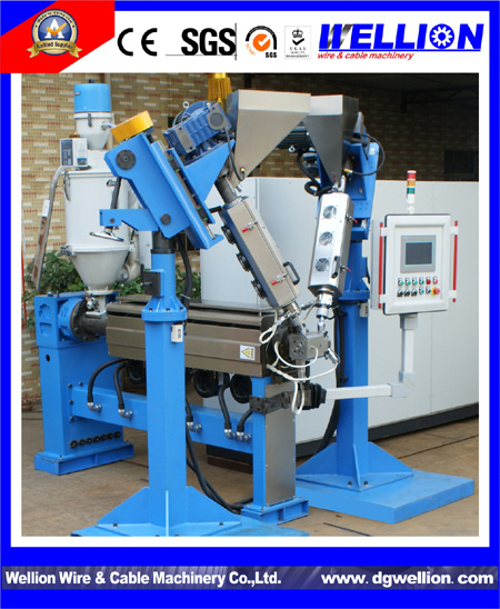 High Quality Wire Cable Making Machine (WLE35-150) pictures & photos