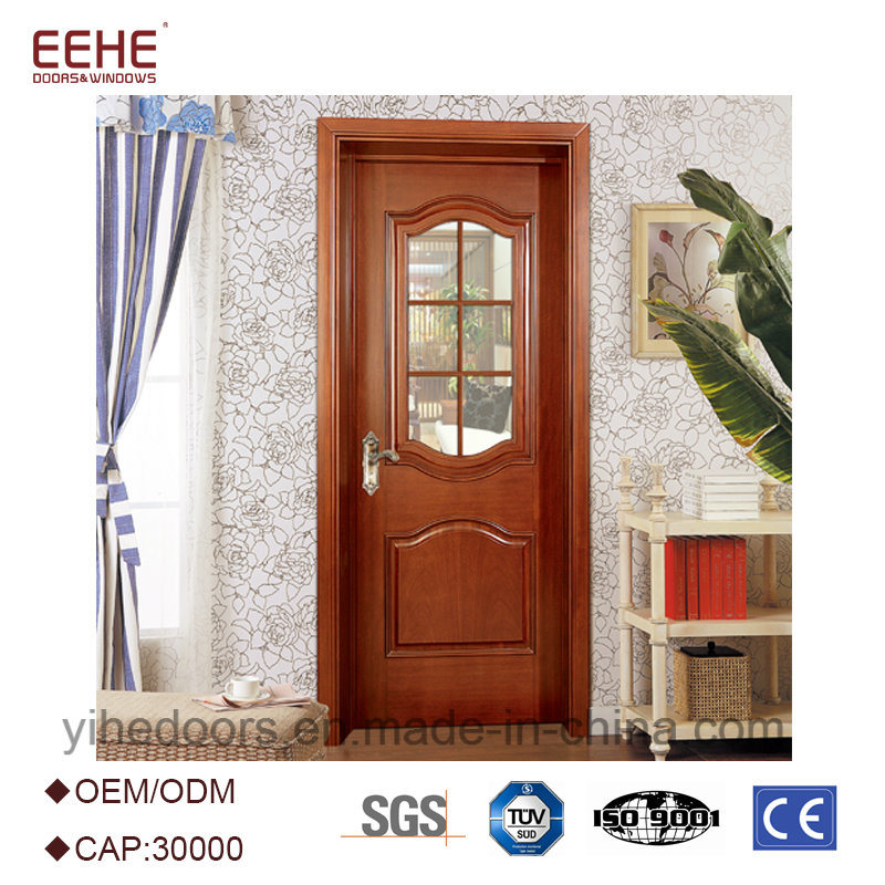 China Interior Commercial Wooden Door Models With Glass Photos