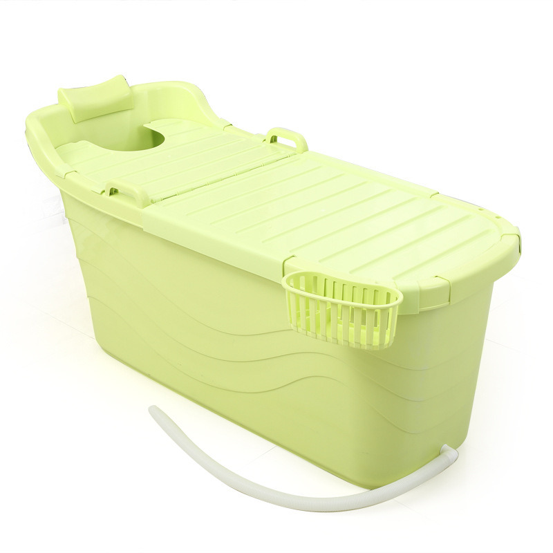 China Plastic Portable Bath Tub for Adults Photos & Pictures - Made ...