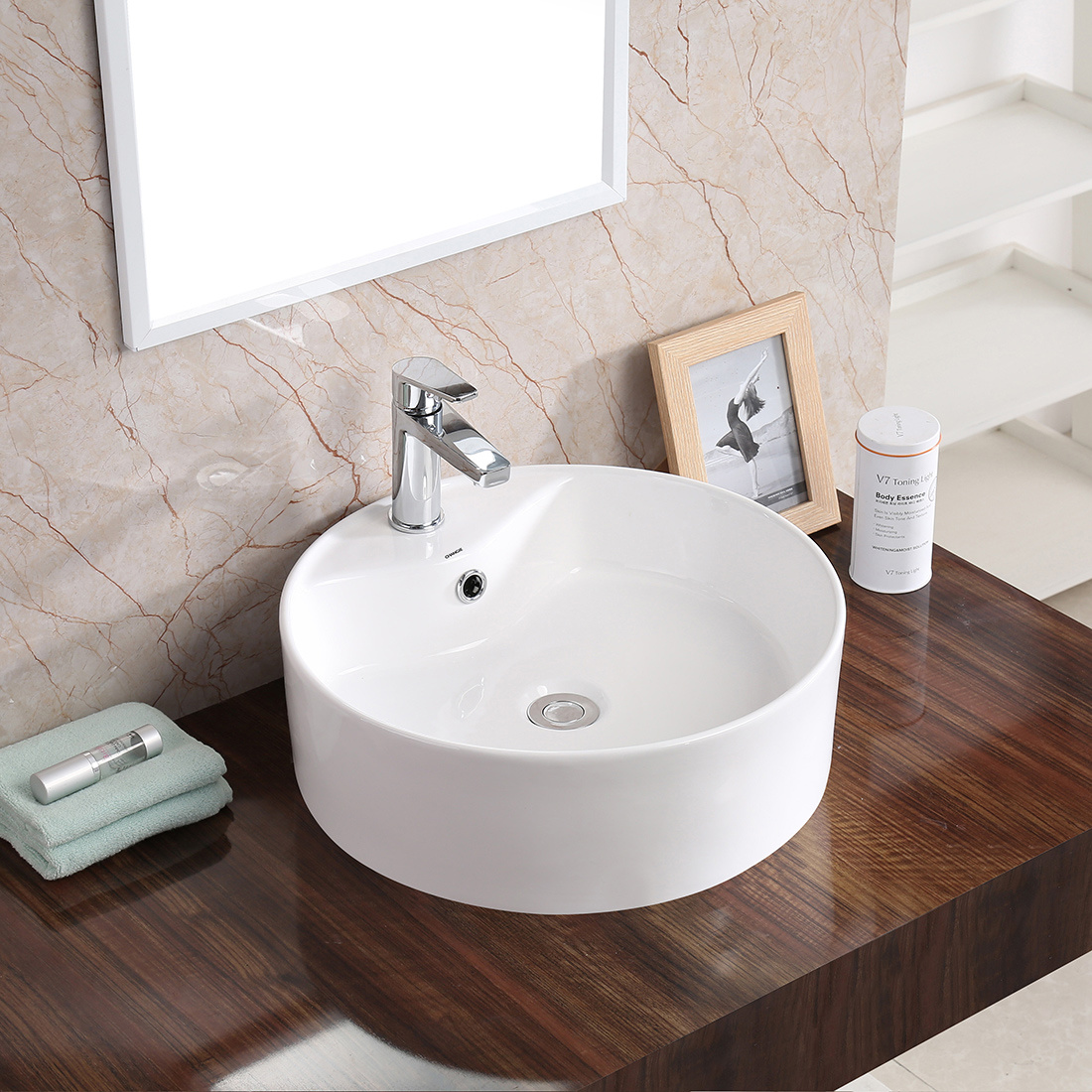 China Vessel Sink With Csa Washbasin Vanity Sink 6004