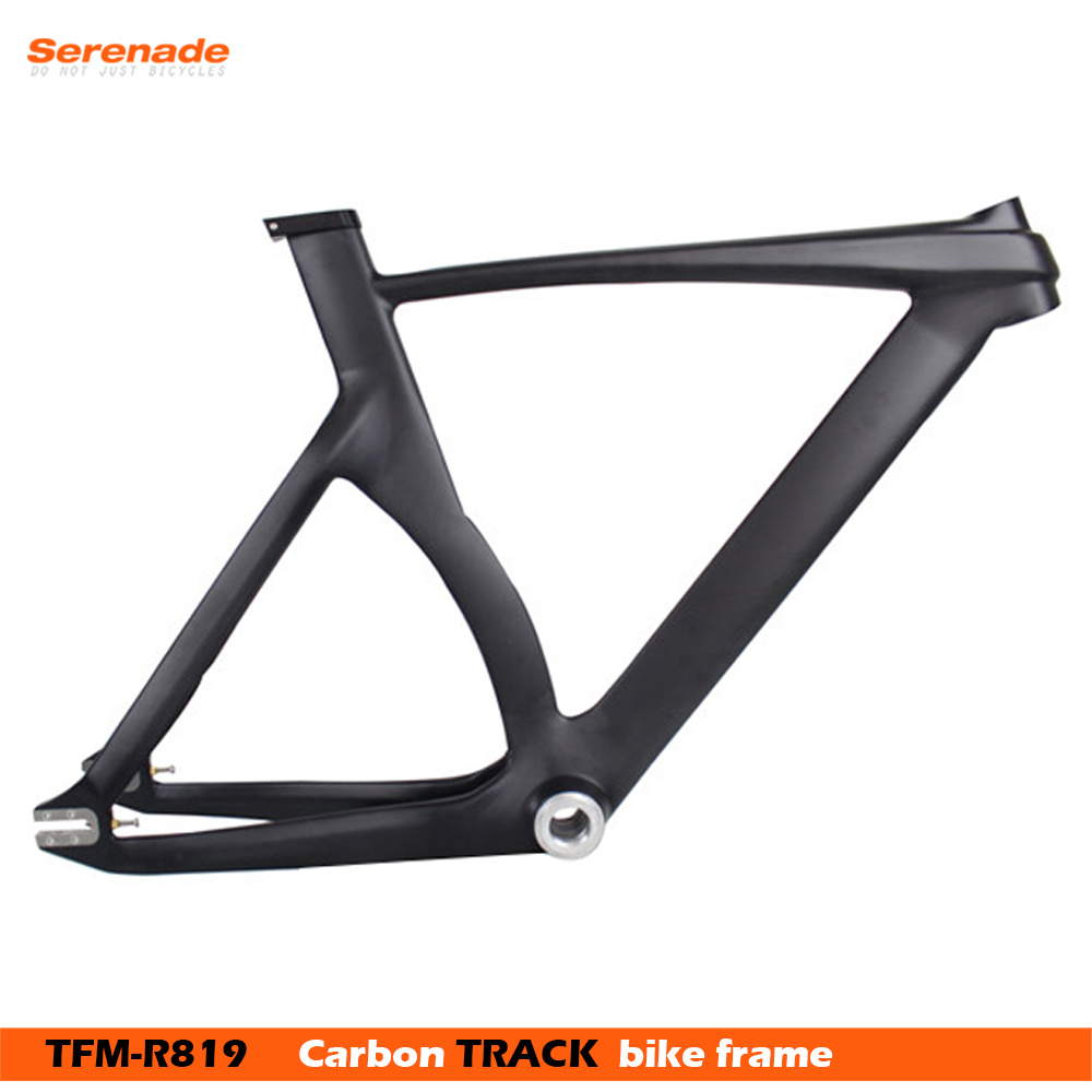China Carbon Fiber Fixed Gear Single Speed Track Bike Frame with ...