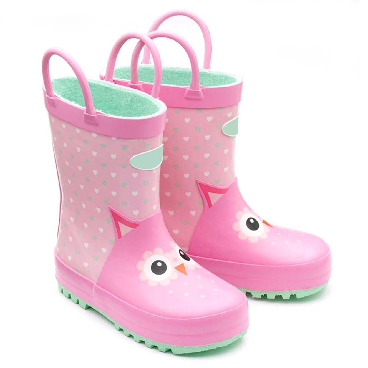 China Super Cute Light Pink Owl Kids