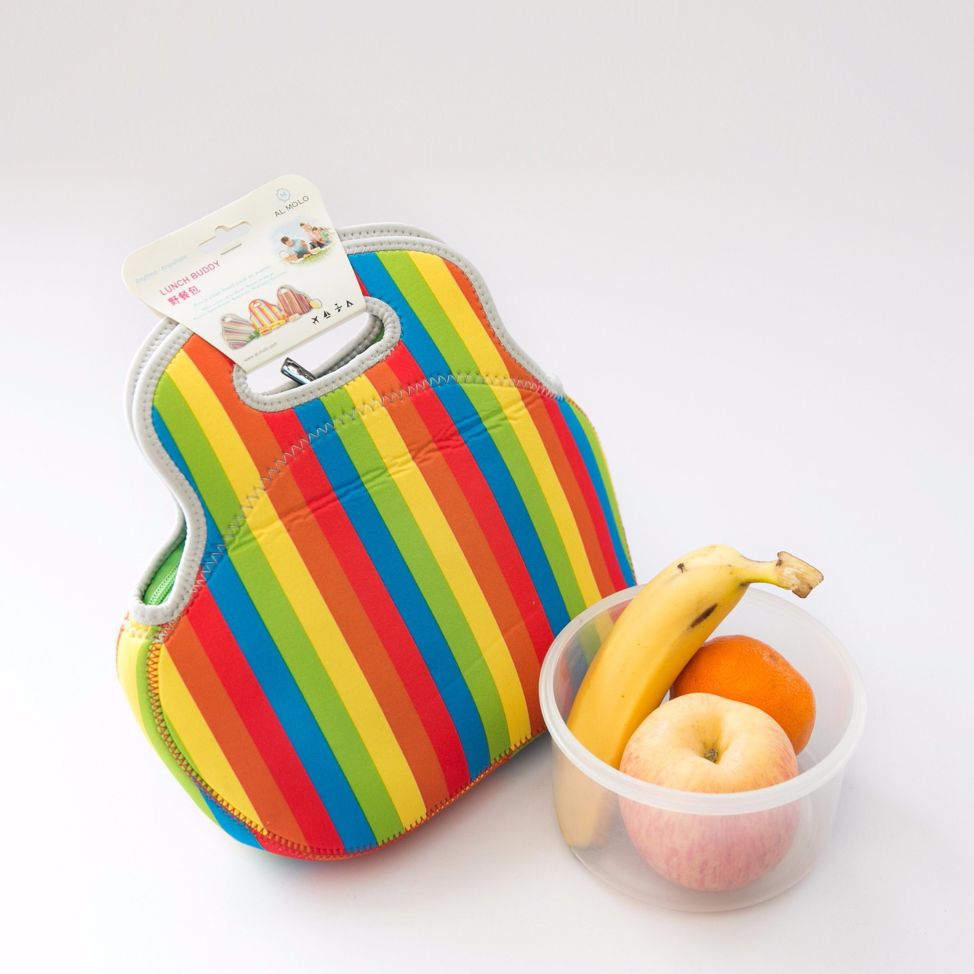 Neoprene Travel Picnic Barbecue Food Lunch Dinner Bag Tote Handbag